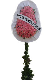 Gerberadan Pink Footed Basket Happy days, you feel that you are with them, sharing the joys and new beginnings of pink gerberas prepared footed basket to represent you send to your loved ones.