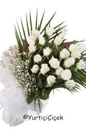 White Rose: 21 pcs