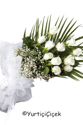 White Rose: 11 pcs